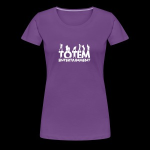 TOTEM Entertainment Logo - Women's Premium T-Shirt