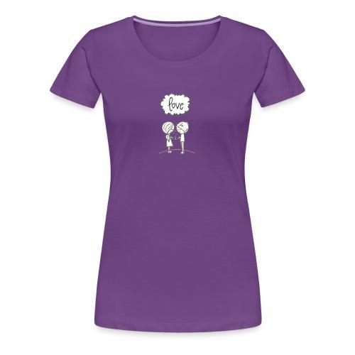Liebespaar - Frauen Premium T-Shirt