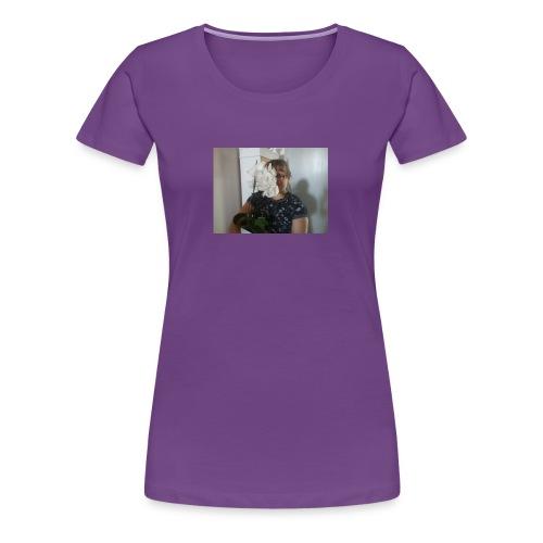 Orchideenmädchen - Frauen Premium T-Shirt