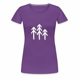 RIDE.company - just trees - Frauen Premium T-Shirt