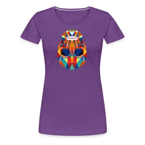 LA CALAVERA - Frauen Premium T-Shirt