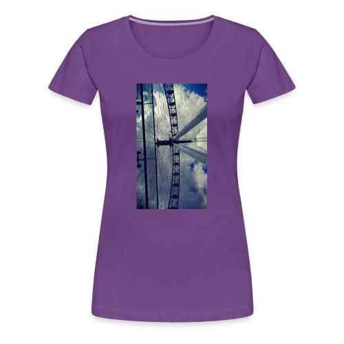 London eye Scratched - Camiseta premium mujer