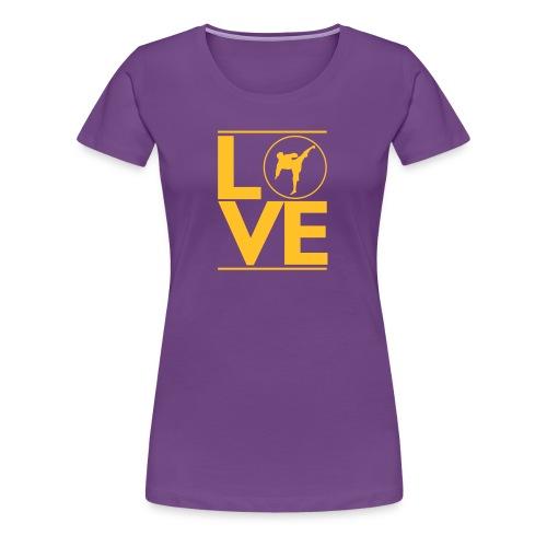 Love karate - T-shirt Premium Femme