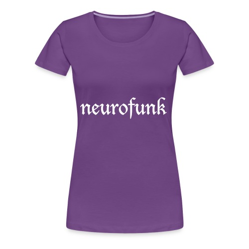 Neurofunk White - Koszulka damska Premium