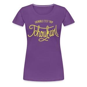 grenoble tchoukar - T-shirt Premium Femme