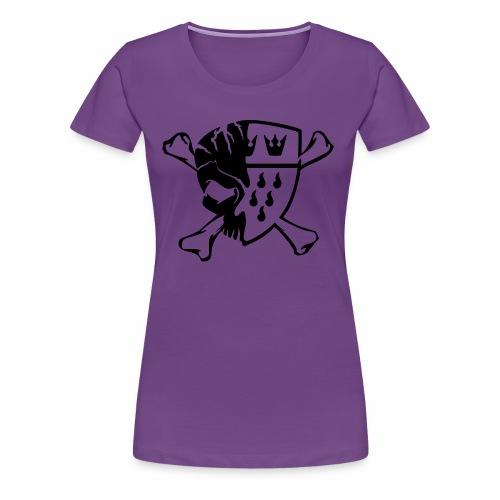 ClashTomized Logo Schwarz - Frauen Premium T-Shirt