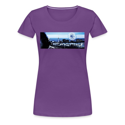 Skyline / Logo Can T - Shirt - Frauen Premium T-Shirt