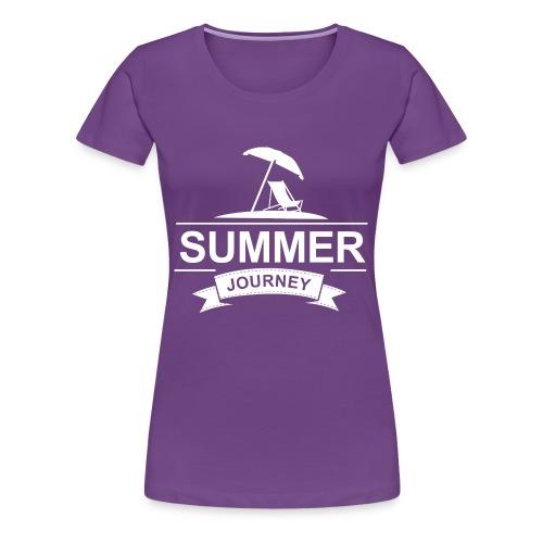 Summer Journey - Frauen Premium T-Shirt