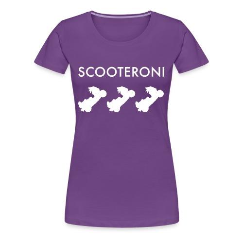 T-shirt SCOOTERONI WHITE - Maglietta Premium da donna