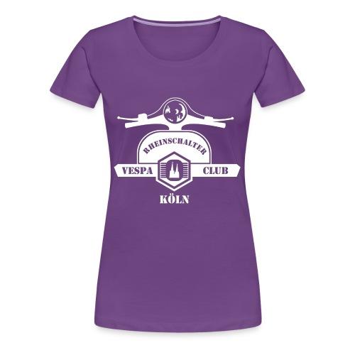 RheinSchalter (gross/weiss) - Frauen Premium T-Shirt