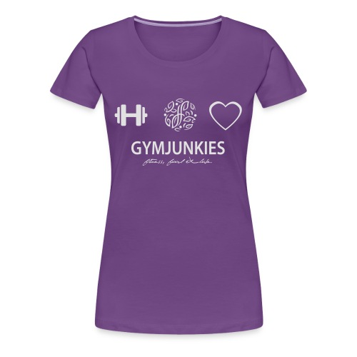-Fitness, Food & Love- tasje - Vrouwen Premium T-shirt
