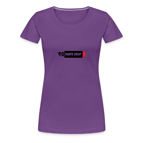90 skate shop - Camiseta premium mujer