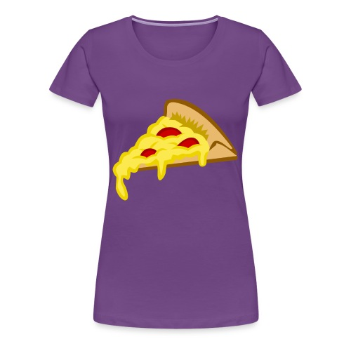 If it fits my macros Pizza - Vrouwen Premium T-shirt