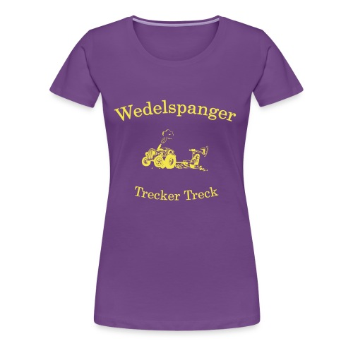 Wedelspanger Trecker Treck - Frauen Premium T-Shirt