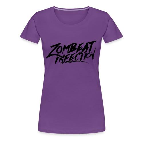 T-shirt Classic BlackLogo - T-shirt Premium Femme