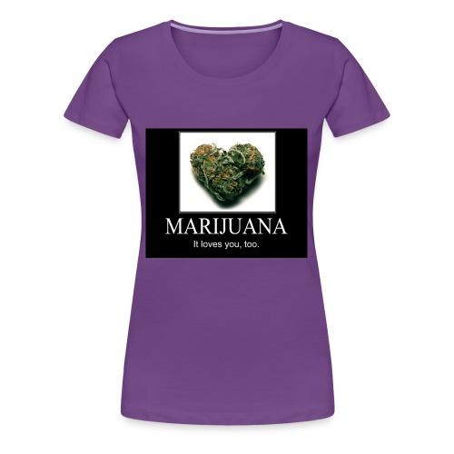 Marijuana - Vrouwen Premium T-shirt