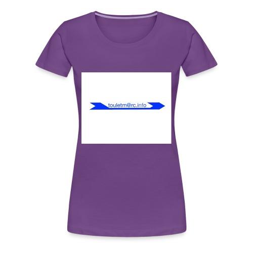 logo touletmarc - T-shirt Premium Femme