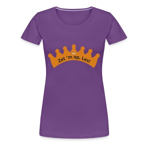 Koningsdag - Vrouwen Premium T-shirt