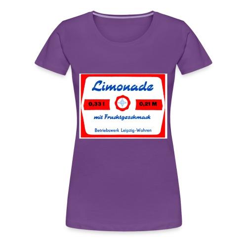 Limonade mit Fruchtgeschmack Leipzig-Wahren - Frauen Premium T-Shirt