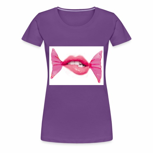 lipbonbon2 - Frauen Premium T-Shirt