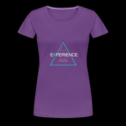 Experiene sports,travel adventure - Dame premium T-shirt