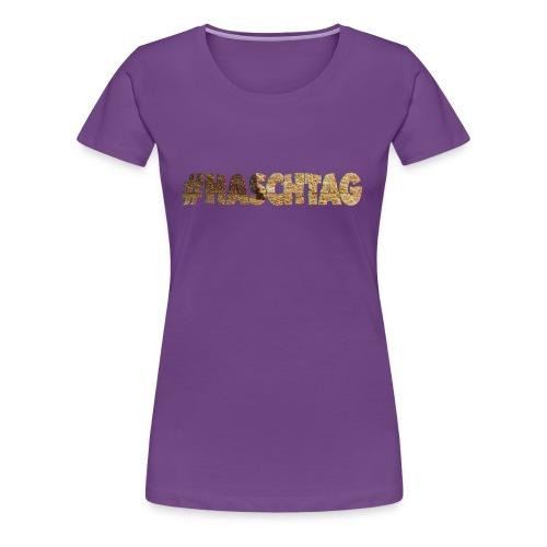 # hashtag haschtag - Frauen Premium T-Shirt