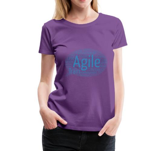 Die agile Buzzword-Sprechblase - Frauen Premium T-Shirt