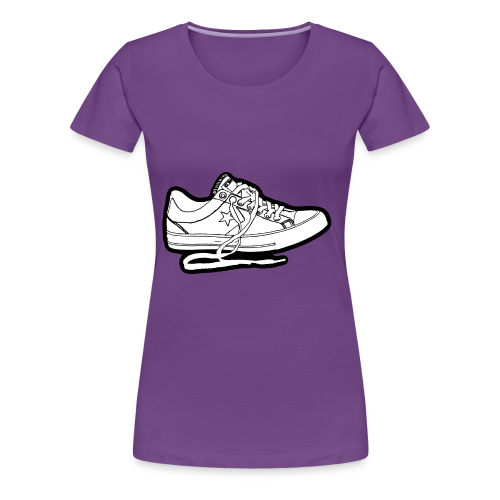 sneaker1 - Premium-T-shirt dam