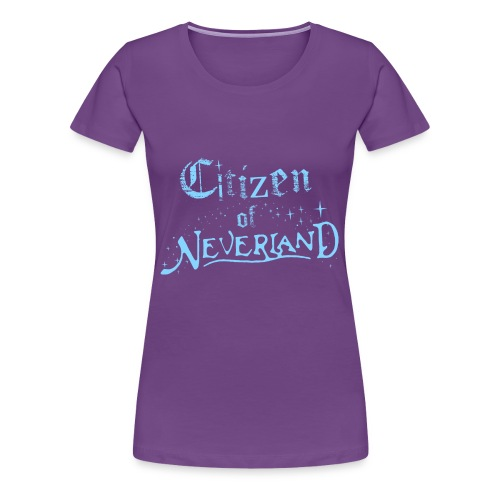 Citizen_blue 02 - Women's Premium T-Shirt