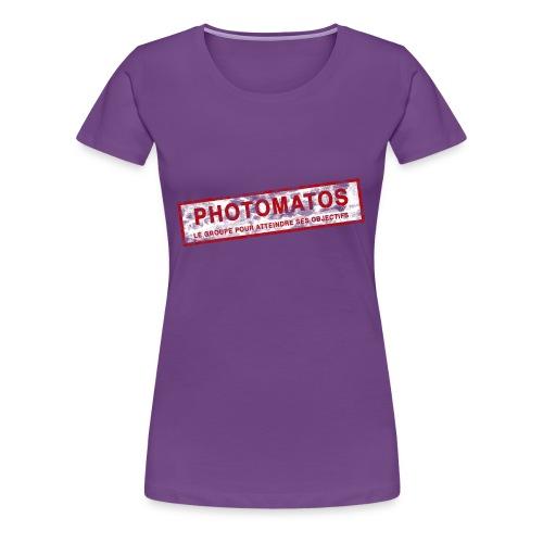 PhotoMatos - T-shirt Premium Femme