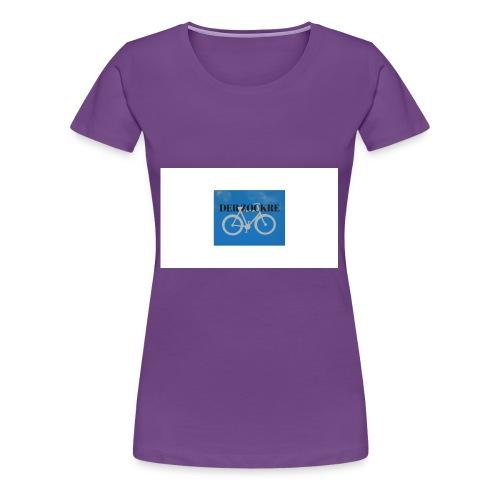 DER Zockr - Frauen Premium T-Shirt