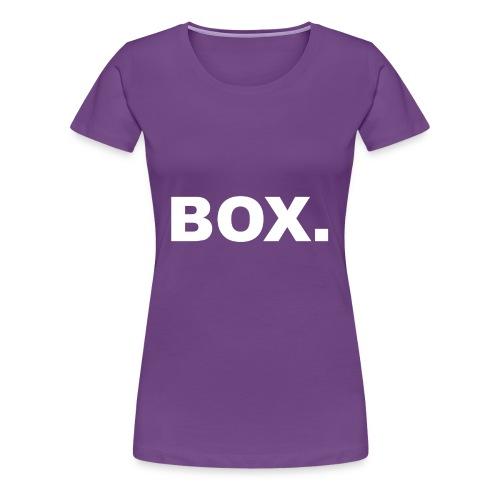 BOX. Clothing T-Shirt Men - Vrouwen Premium T-shirt
