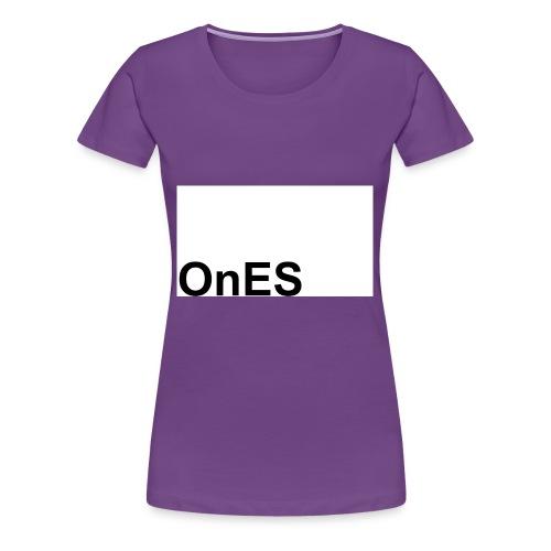 OnES Markenlogo 2 - Frauen Premium T-Shirt