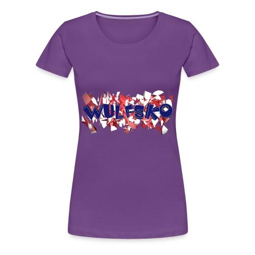 Wulfsko's Logo - Frauen Premium T-Shirt
