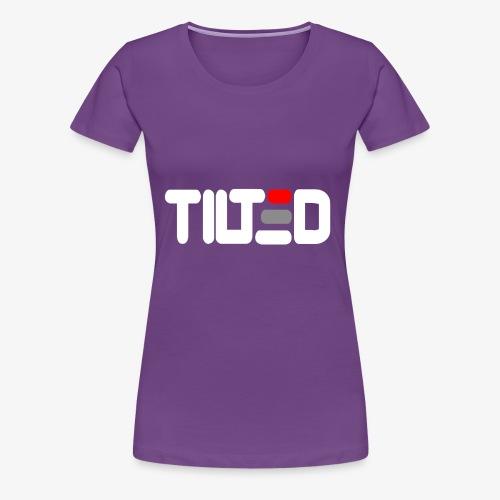 Tilted - Premium-T-shirt dam