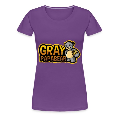 GrayPapaBear - Frauen Premium T-Shirt