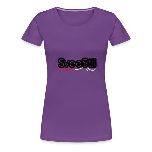 SVEESTIITSHIRTV2 - Premium T-skjorte for kvinner
