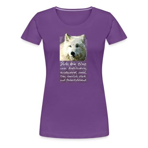 Ich bin eine - weise Anführerin - Frauen Premium T-Shirt