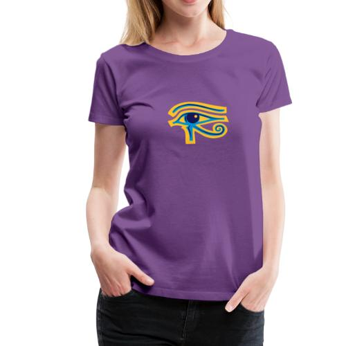 Ägypten-Auge des Horus - Frauen Premium T-Shirt