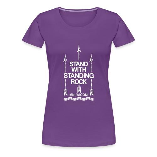 Stand - Dame premium T-shirt