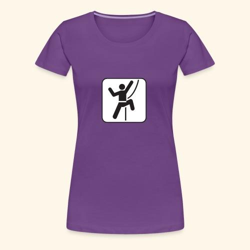 SeilKlettern - Frauen Premium T-Shirt