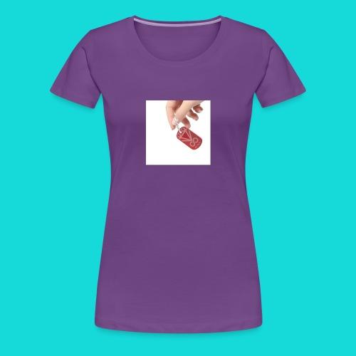 Diamant-RED DOG-TAG - Frauen Premium T-Shirt