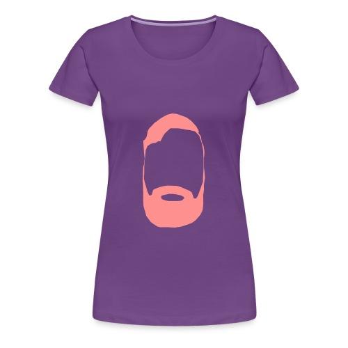 The Mighty Beard - Women's Premium T-Shirt