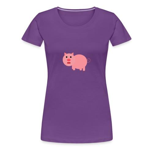 Pig Mad - Women's Premium T-Shirt