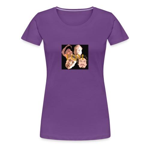 EQM LOGO - Premium-T-shirt dam