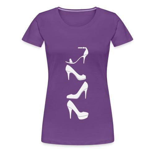 I Love High Heels - Frauen Premium T-Shirt