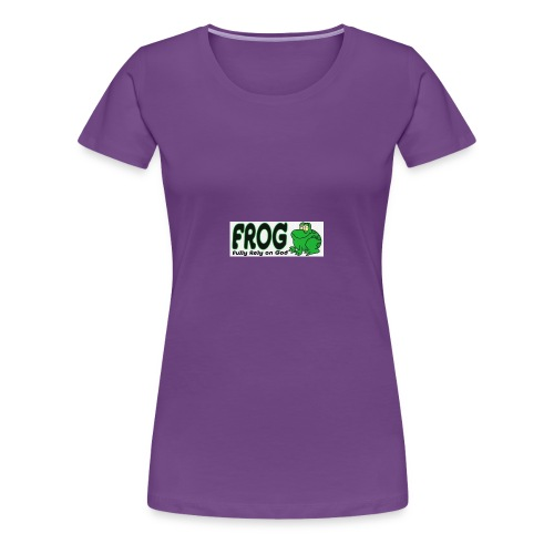 FROG - Vrouwen Premium T-shirt