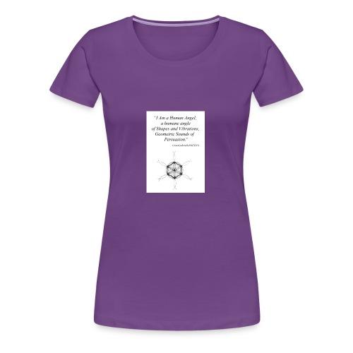 'Human Angel' GraceGabriellaPOETICS - Women's Premium T-Shirt