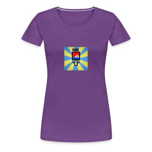 Qanz Gaming Caps - Premium T-skjorte for kvinner
