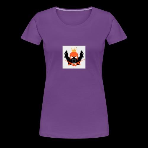 Zombro13 kammen - Dame premium T-shirt